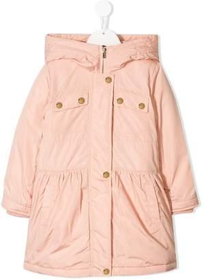 Chloé Kids hooded raincoat