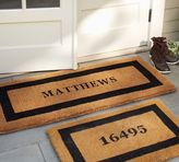 Pottery Barn Personalized Doormat