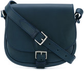 Alexandre Mareuil - saddle shoulder bag - women - Leather/Suede - One Size