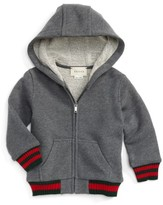 Gucci Infant Boy's Felted Jersey Hoodie