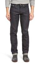 Naked & Famous Denim Weird Guy Slim Fit Raw Selvedge Jeans (Kapok Denim)