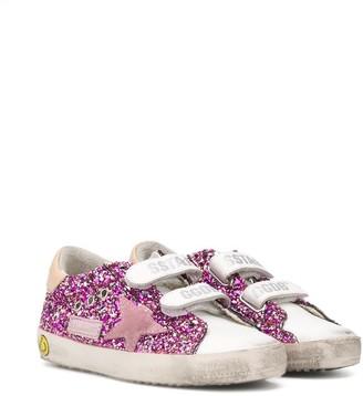 Golden Goose Kids Glitter Embellished Sneakers