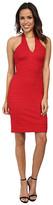 Nicole Miller Stretch Texture Halter Dress