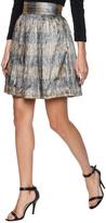 Jess Abernethy Navy Gold Poof Skirt