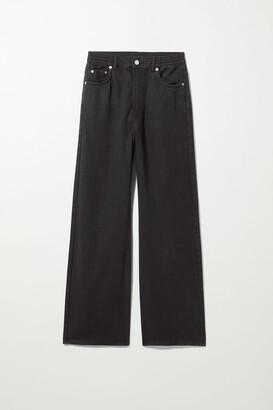 Weekday Linear Jeans - Beige