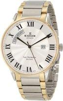 Edox Les Vauberts Day Date Automatic Men's watches 83011-357-JAR