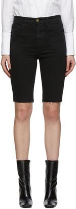 Frame Black Le Vintage Bermuda Shorts