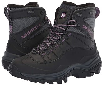 Merrell Thermo Chill 6 Shell Waterproof (Black) Women's Hiking Boots