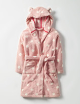 Cosy Dressing Gown Provence Dusty Pink Spot Girls Boden