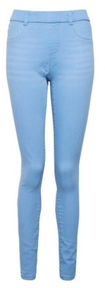Dorothy Perkins Womens Ice Blue Eden Denim Jeggings With Organic Cotton, Blue
