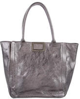 Roger Vivier Metallic Leather Tote
