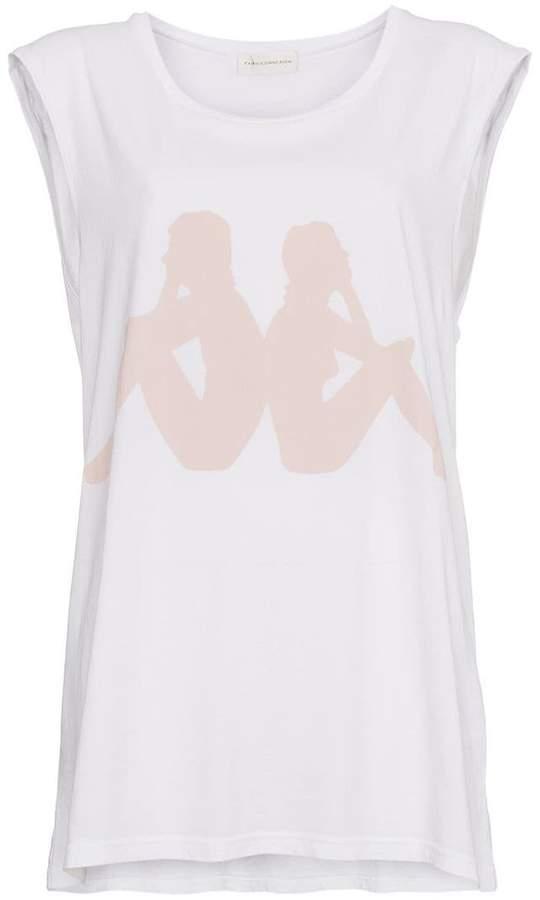 Faith Connexion x Kappa sleeveless cotton tank top