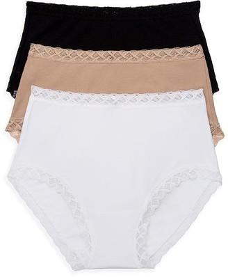 Natori Bliss Cotton Full Brief 3-Pack