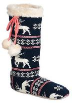 Animal women's Katia slipper socks FM5WG312H65