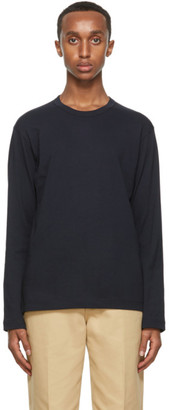 Comme des Garçons Shirt Navy Forever Long Sleeve T-Shirt