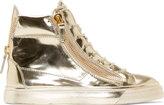 Giuseppe Zanotti Platinum London High-Top Sneakers
