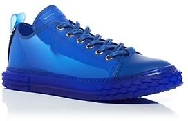 Giuseppe Zanotti Men's Blabber Transparent Low-Top Sneakers