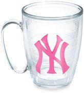Tervis Neon Pink MLB New York Yankees Emblem 15 oz. Mug