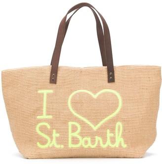 MC2 Saint Barth Helene logo tote bag
