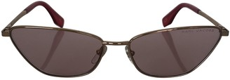 Marc Jacobs Red Metal Sunglasses