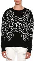 Just Cavalli Rope & Star Knit Sweater