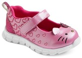 Hello Kitty Toddler Girls' Athletic Mary Jane Shoes - Pink