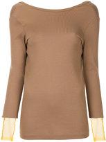 Toga Pulla V-back sweater