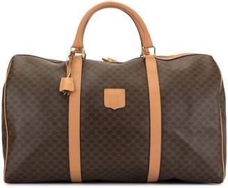 Celine Pre-Owned Macadam pattern travel handbag