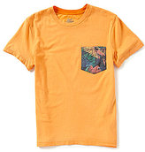 First Wave Big Boys 8-20 Short-Sleeve Printed Pocket Tee