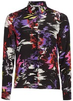 Alice + Olivia Willa Silk Shirt