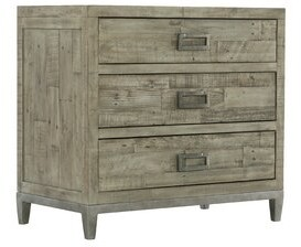 Bernhardt Highland Park Shaw 3 - Drawer Bachelor's Chest in Gray