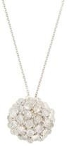 Paolo Costagli 18K White Gold, Moonstone & 0.63 Total Ct. Diamond Sphere Pendant Necklace