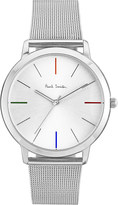 Paul Smith Mens Silver Water Resistant Luxury Watch