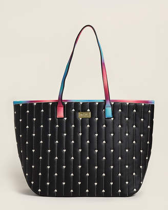 Betsey Johnson Luv Betsey By Black Sandro Quilted Tote