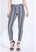 Select Fashion Fashion Womens Grey Snake Print Jegging - size 8