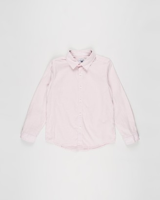 Cotton On Boy's Pink Shirts - Free Boys Harper LS Shirt - Teens - Size 10 YRS at The Iconic
