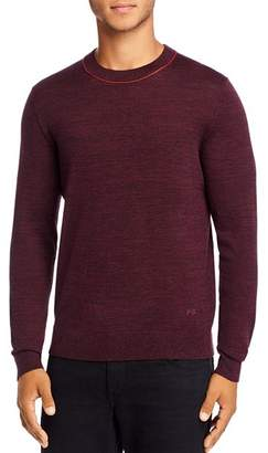 Paul Smith Contrast Trim Merino Wool Pullover Sweater