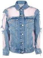 Topshop MOTO Pink Organza Jacket