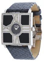 Misaki Women's Quartz Watch with Black Dial Analogue Display Quartz Leather PWOPERA