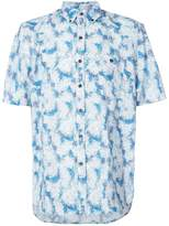 Michael Bastian button collar shortsleeved shirt