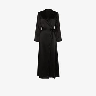 La Perla Full-Length Silk Dressing Gown