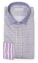 Etro Men's Purple Cotton Shirt.