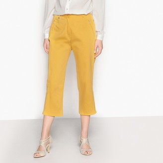 """Anne Weyburn Cropped Straight Trousers, Length 23"""""""