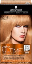 Schwarzkopf Ultime Hair Color Cream, 9.14 Icy Copper, 2.03 Ounce