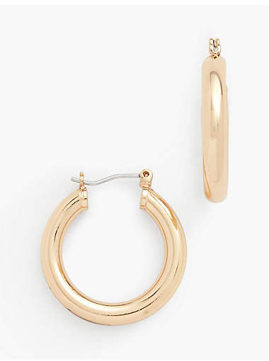 Thumbnail for your product : Talbots Classic Hoop Earrings