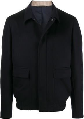 Loro Piana Long Sleeve Cashmere Shirt Jacket