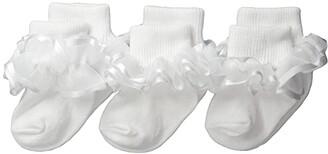 Jefferies Socks Frilly Lace (Infant/Toddler/Little Kid/Big Kid)