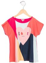 Paul Smith Girls' Colorblock Short Sleeve Top w/ Tags