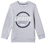 Lacoste Grey Branded Sweater