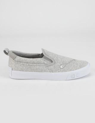 Champion Gem Womens Oxford Gray Slip-On Shoes